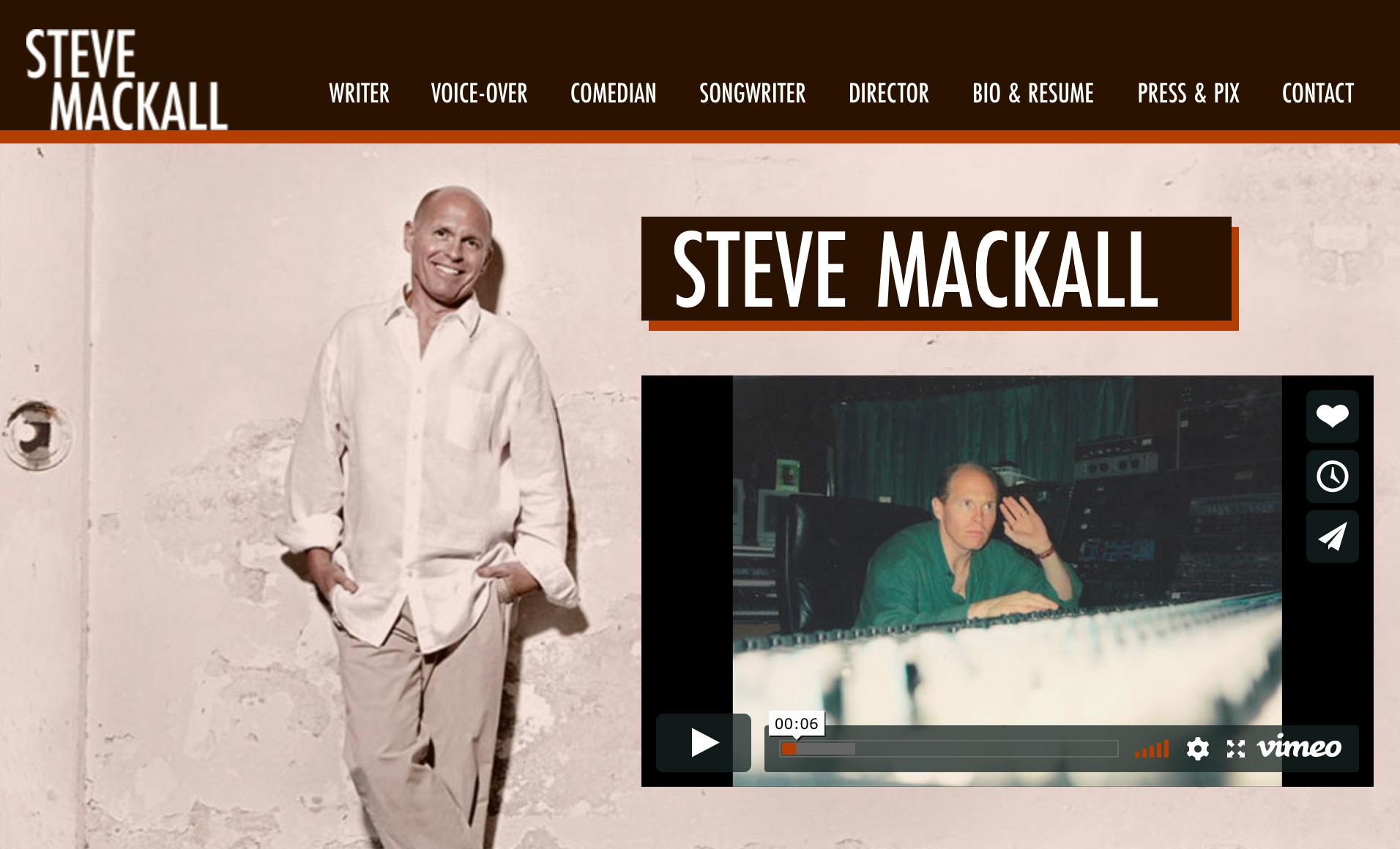 SteveMackall.com